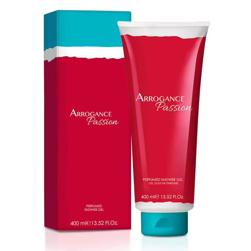 Arrogance Passion Shower-Gel_400ml