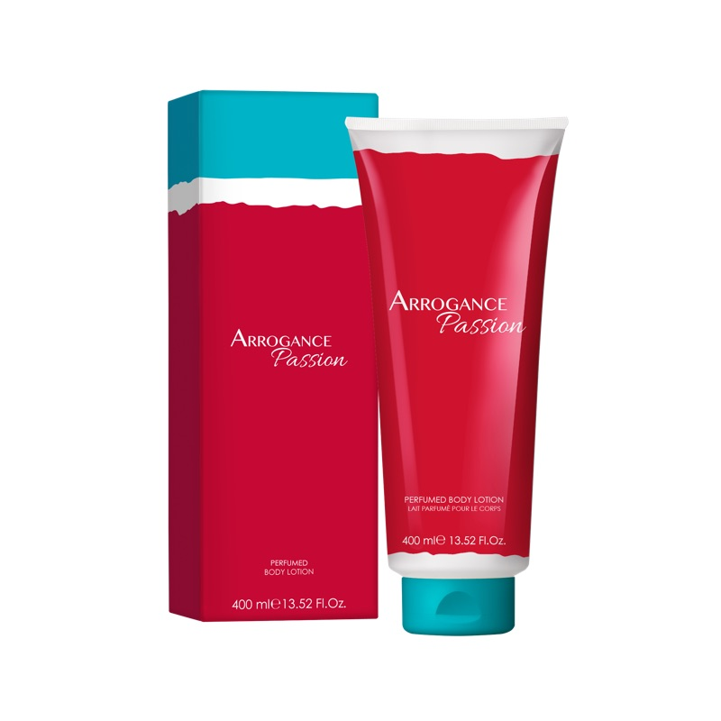 Arrogance Passion body lotion 400 ml