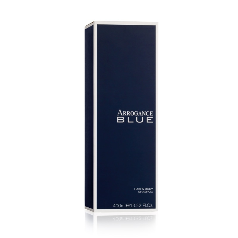 Arrogance Blue hair body shampoo 400 ml