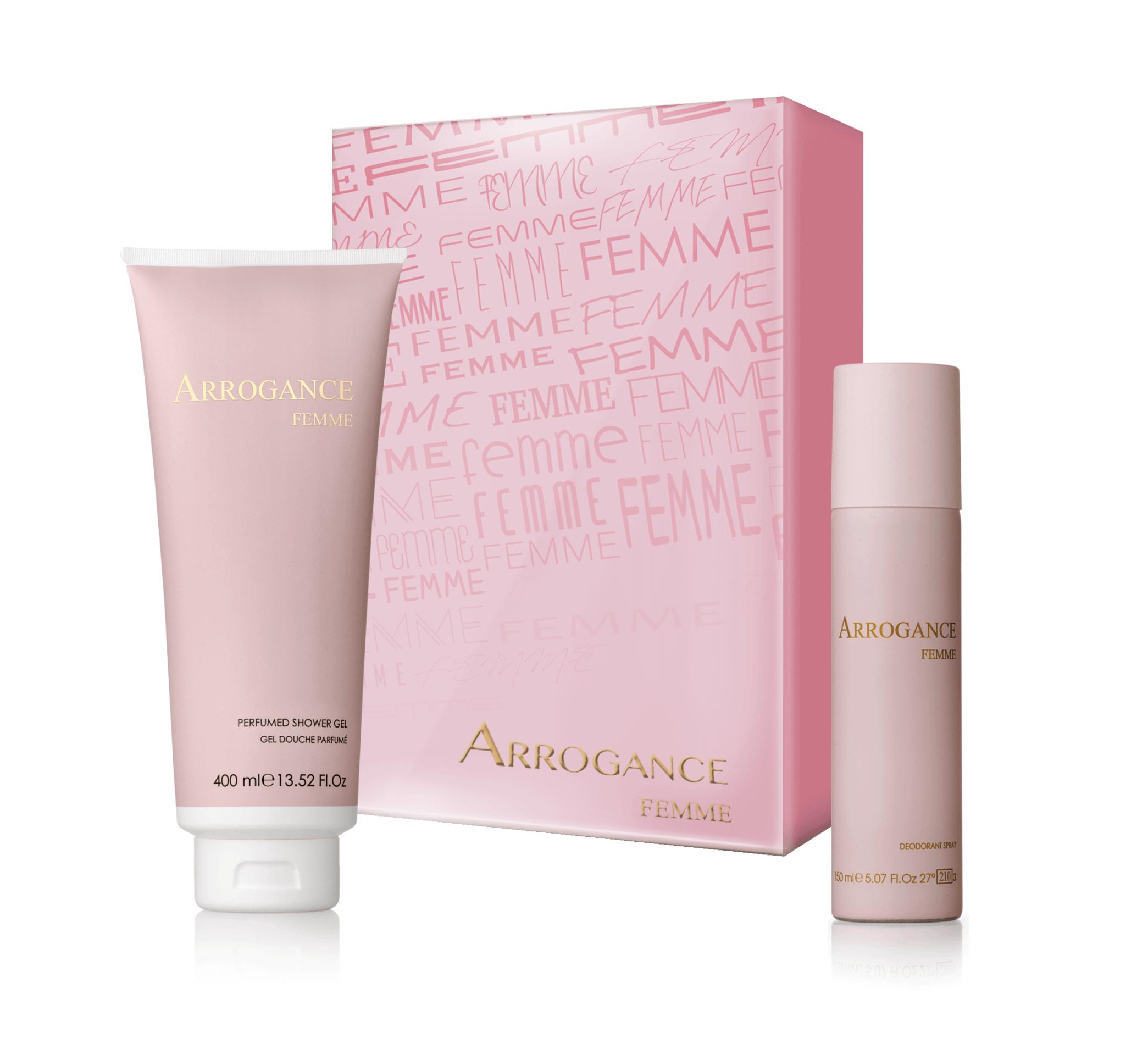 Femme Shower Gel + Spray Deodorante