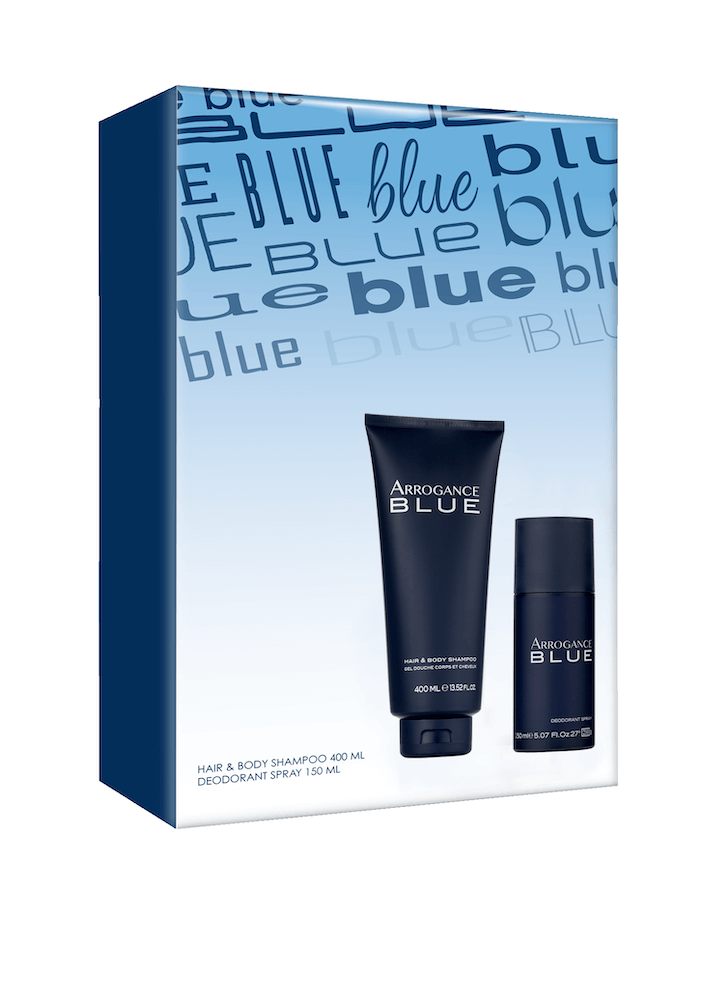 lue Hair & Body Shampoo 400 ml + Deodorante Spray 150 ml